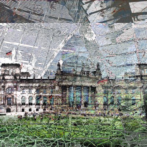 Beate Kratt, BERLIN, Architektur, Diverse Bauten, Gegenwartskunst