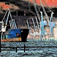 Beate Kratt, Hamburg - Hafen