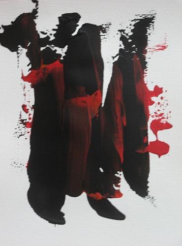 Karin Völkl, In Zeiten wie diesen, Abstraktes, Informel, Abstrakter Expressionismus