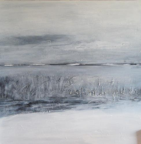 Karin Völkl, o. T., Landschaft, Informel, Expressionismus