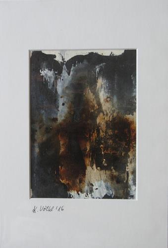 Karin Völkl, o. T:, Abstraktes, Informel