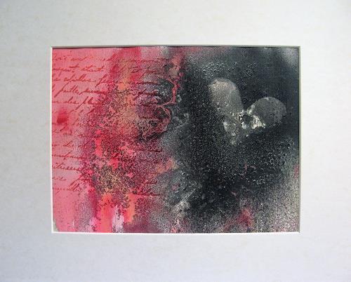 Karin Völkl, Liebesbrief, Gefühle, Abstrakte Kunst
