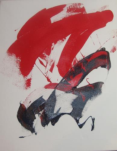 Karin Völkl, pure Lebensfreude, Abstraktes, Informel, Abstrakter Expressionismus