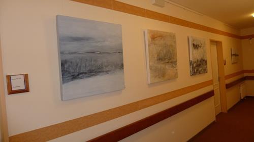 Karin Völkl, Ausstellung im Haus Rauschenberg, Abstraktes, Abstrakte Kunst