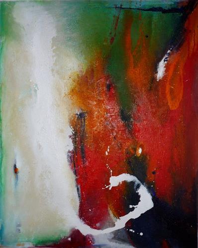 Acryl auf leinwand von maria kammerer abstraktes malerei - Abstrakte kunst auf leinwand ...