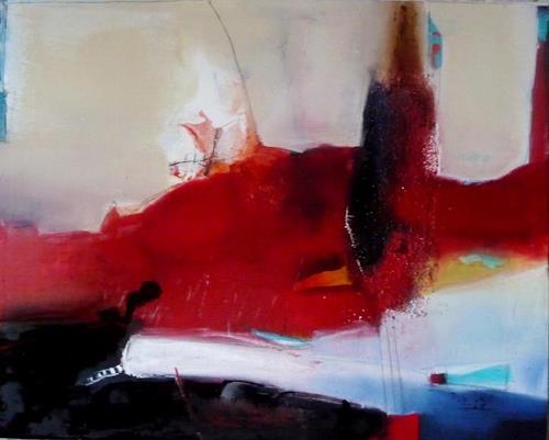 maria kammerer, Hafenstadt, Abstraktes, Moderne, Abstrakter Expressionismus