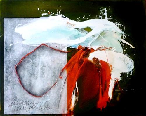 maria kammerer, Wassertanz, Abstraktes, Moderne, Expressionismus