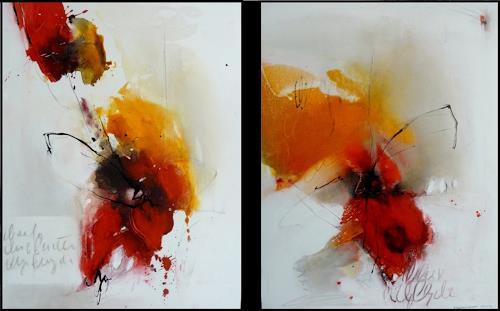 maria kammerer, Blüten!, Abstraktes, Moderne