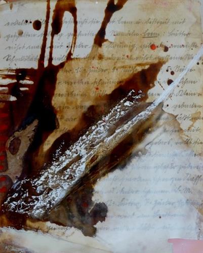 maria kammerer, Menü des Tages 9, Abstraktes, Abstrakte Kunst