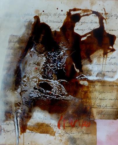 maria kammerer, Menü des Tages 10, Abstraktes, Abstrakte Kunst