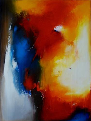 maria kammerer, Tag und Nacht!, Abstraktes, Moderne, Expressionismus