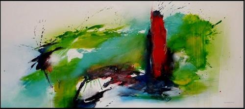 maria kammerer, Abgehoben!, Abstraktes, Moderne, Expressionismus