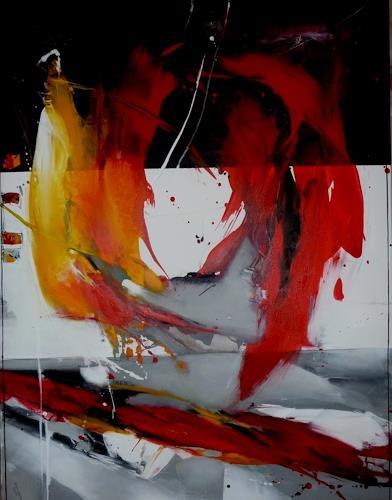 maria kammerer, Feuer der Liebe, Abstraktes, Moderne