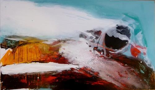 maria kammerer, Ins rollen kommen, Abstraktes, Moderne, Abstrakter Expressionismus