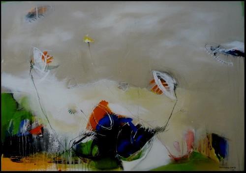 maria kammerer, Lass uns wachsen, Abstraktes, Abstrakte Kunst, Expressionismus