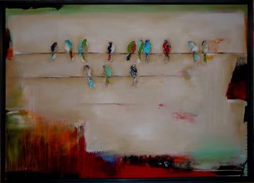 maria kammerer, Der Frohsinn!, Abstraktes, Abstrakte Kunst, Expressionismus