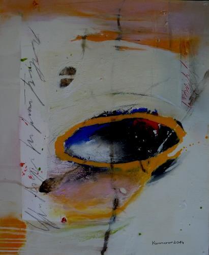 maria kammerer, Mut zur Tiefe!, Abstraktes, Abstrakte Kunst, Expressionismus