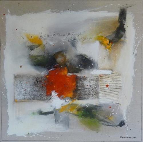 maria kammerer, Leichtigkeit im Sein 2, Abstraktes, Abstrakte Kunst