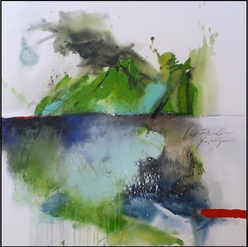 maria kammerer, Wundervolles Leben!, Abstraktes, Expressionismus