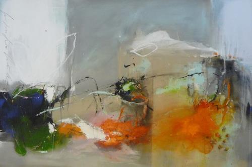 maria kammerer, Der Duft des Frühlings!, Abstraktes, Abstrakte Kunst, Expressionismus