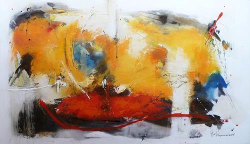 maria kammerer, Freude am Leben!, Abstraktes, Abstrakte Kunst, Expressionismus