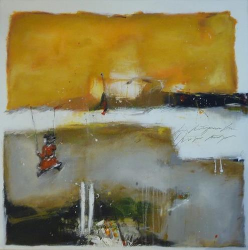 maria kammerer, In vollen Zügen!, Abstraktes, Gegenwartskunst, Expressionismus