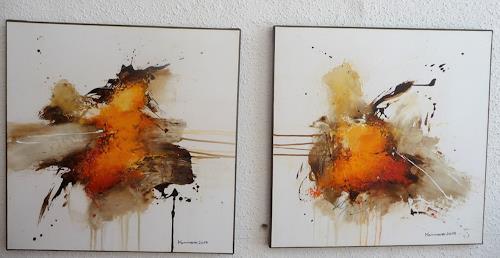maria kammerer, Auftragsarbeit, Abstraktes, Abstrakte Kunst