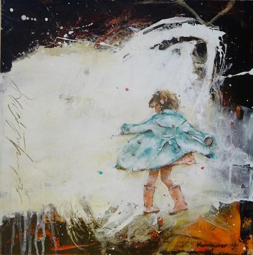 maria kammerer, Serie Sorgenfrei!, Menschen: Kinder, Abstrakte Kunst, Expressionismus