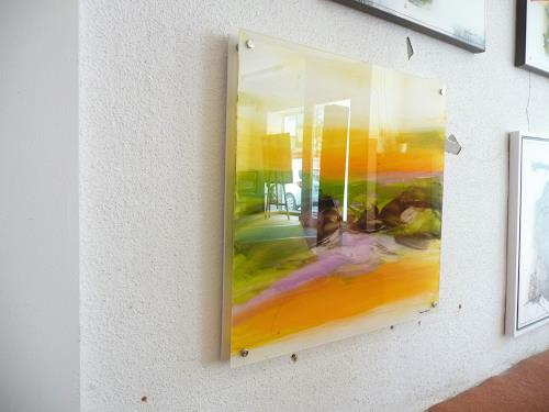 maria kammerer, Acryl auf Plexiglas, Abstraktes, Abstrakte Kunst