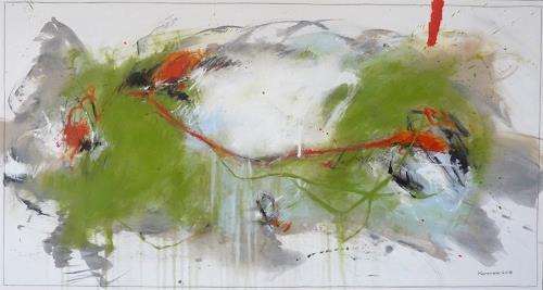 maria kammerer, Lebenslust 3!, Abstraktes, Abstrakte Kunst, Abstrakter Expressionismus