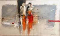 maria-kammerer-Menschen-Paare-Moderne-Abstrakte-Kunst
