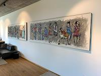 maria-kammerer-Diverse-Menschen-Moderne-Abstrakte-Kunst