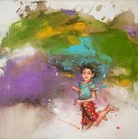 maria-kammerer-Menschen-Kinder-Moderne-Abstrakte-Kunst-Action-Painting