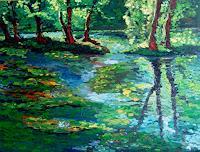 Pierre-Putica-Landschaft-Fruehling-Moderne-Expressionismus