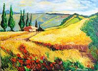 Pierre-Putica-Landschaft-Ebene-Moderne-Expressionismus