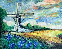 Pierre-Putica-Landschaft-Sommer-Moderne-Expressionismus