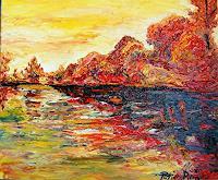 Pierre-Putica-Landschaft-Herbst-Moderne-Impressionismus