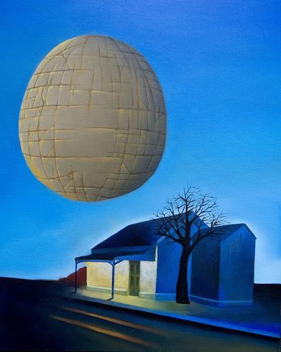 Ruben Cukier, Soledad, Landschaft: Winter, Symbolismus, Abstrakter Expressionismus