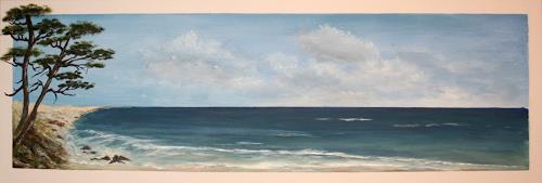 Diana Klebs, Das Meer, Landschaft: See/Meer, Landschaft: See/Meer, Fotorealismus, Moderne