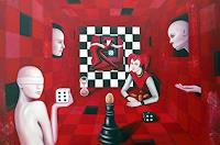 Ela-Nowak-Diverse-Gefuehle-Menschen-Gruppe-Gegenwartskunst--Postsurrealismus
