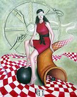 Ela-Nowak-Menschen-Frau-Fantasie-Gegenwartskunst--Postsurrealismus