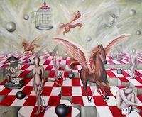 Ela-Nowak-Fantasie-Mythologie-Gegenwartskunst-Postsurrealismus