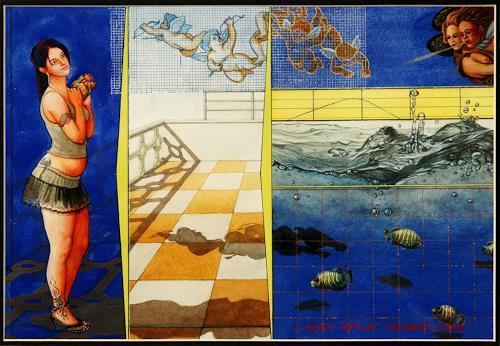 Rajesh Rana, The rebirth of the Venus, Menschen: Frau, Mythologie, Naturalismus