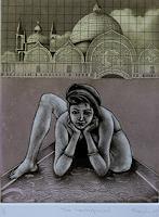 Rajesh-Rana-Menschen-Frau-Akt-Erotik-Akt-Frau-Moderne-Naturalismus