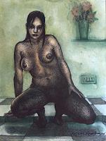 Rajesh-Rana-Akt-Erotik-Akt-Frau-Menschen-Frau-Moderne-Naturalismus