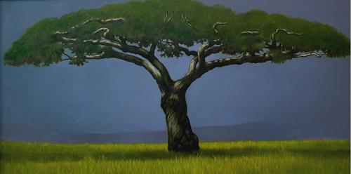Rajesh Rana, Kalpa Taru, Pflanzen: Bäume, Mythologie, Naturalismus