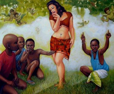 Kunst von Rajesh Rana
