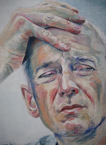 Angela Selders-Kanthak, Peter II, Menschen: Mann, Menschen: Porträt, Realismus, Abstrakter Expressionismus