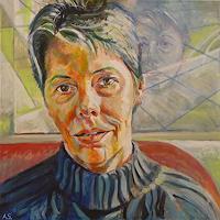 Angela-Selders-Kanthak-Menschen-Frau-Menschen-Portraet-Neuzeit-Realismus