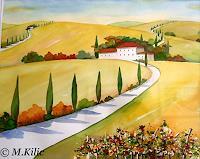 Meltem-Kilic-Landschaft-Sommer-Natur-Diverse-Gegenwartskunst--Gegenwartskunst-